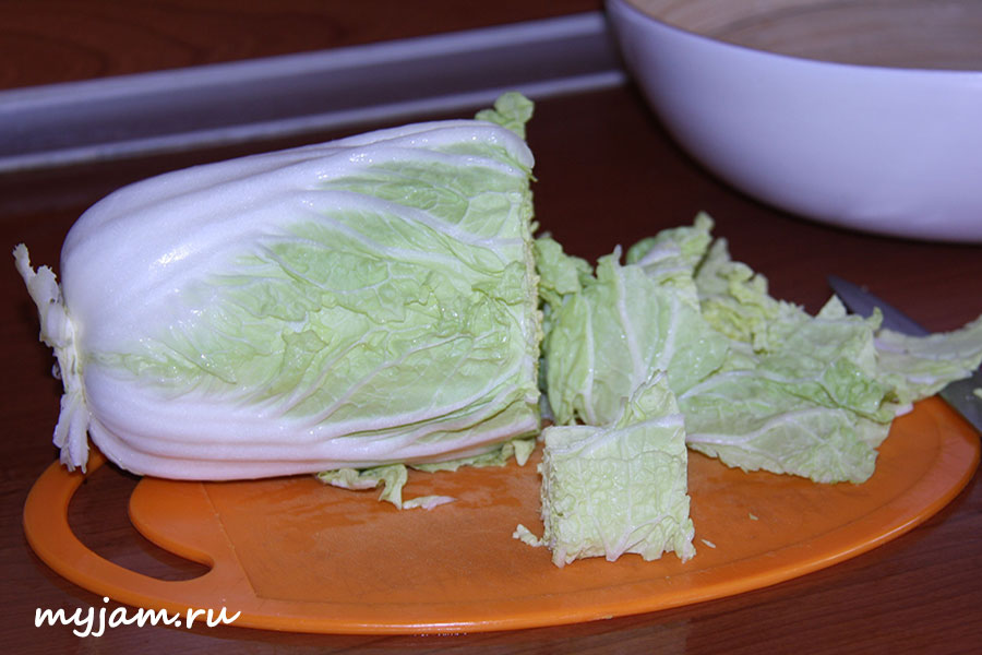 Из пекинской капусты приготовить