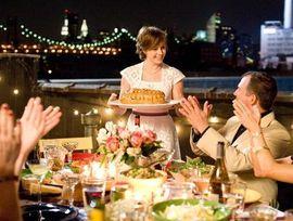 Фото ужин с видом на Нью-Йорк