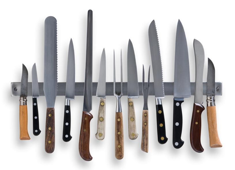 Еще один вариант магнита для ножей