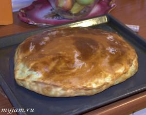 Пирог слоённые хачапури