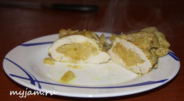 Рецепт куриной грудки с анансом