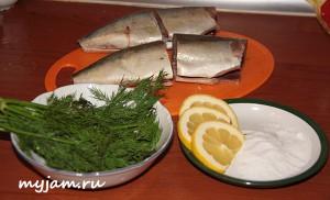 ингредиенты для скумбрии
