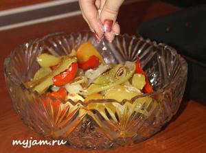 как заправить салат