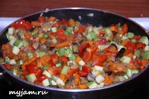 овощи для лазаньи