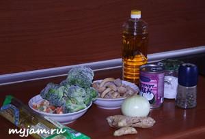 ингредиенты для таиского супа