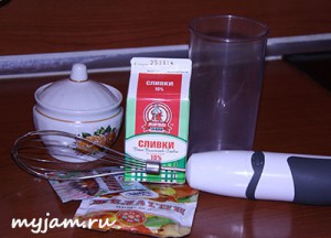 ингредиенты сливочного желе