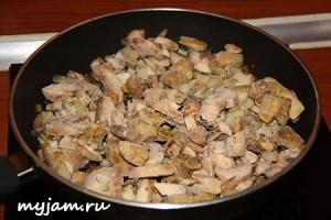 начинка из лесных грибов