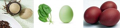 окрашенные яйца 2