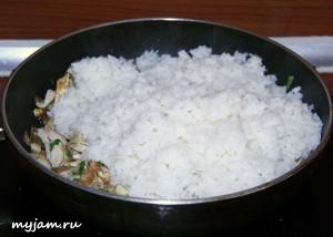 рис и курица