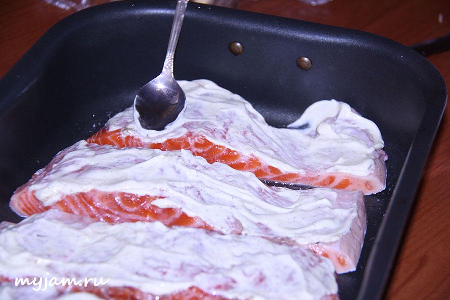 форель в духовке с сыром рецепт с фото
