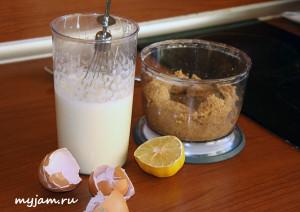 ингредиенты для бисквита