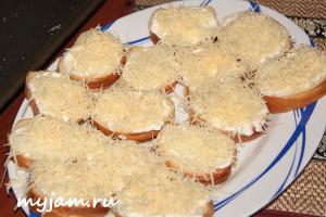 батон-майонез-сыр