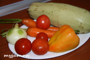 овощи для кабачковой икры