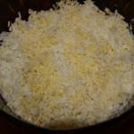 слой - тертое яйцо