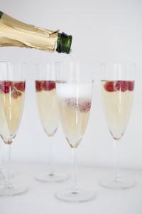 малиновое шампанское