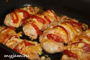 Фотография нежного куриное филе в духовке