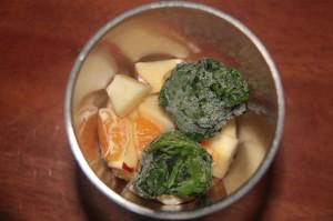 как приготовить смузи со шпинатом и яблоком