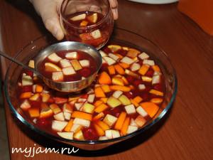 Фотография безалкогольной сангрии