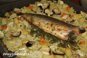 как вкусно запечь рыбу в духовке