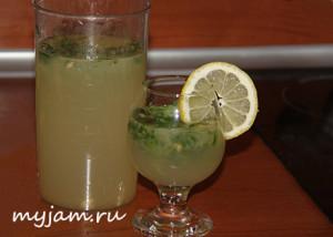 Изображение домашнего лимонада