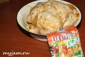 Как замариновать курицу