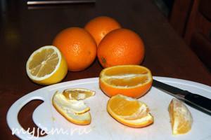Домашний джем из апельсинов