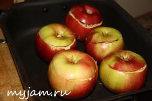 Как запечь яблоки