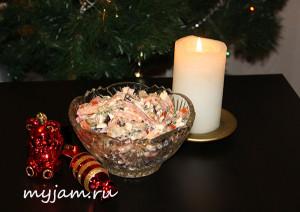 Салат из баклажана и помидоров