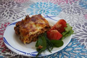Рецепт вкусной лазаньи