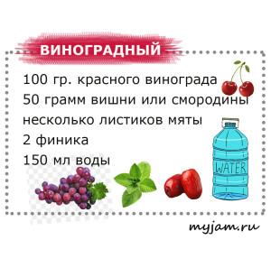 Смузи виноградный